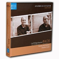 Carl Philipp Emanuel Bach Sonatas And Fantasies Chamber Music Andreas Staier (3 CD) артикул 1198b.